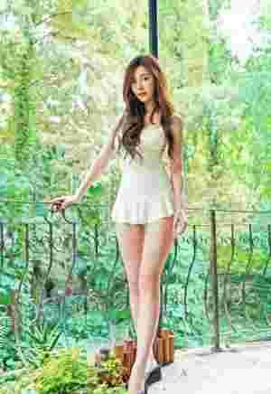 清纯靓丽可爱美女泳衣娇巧甜美秀气写真