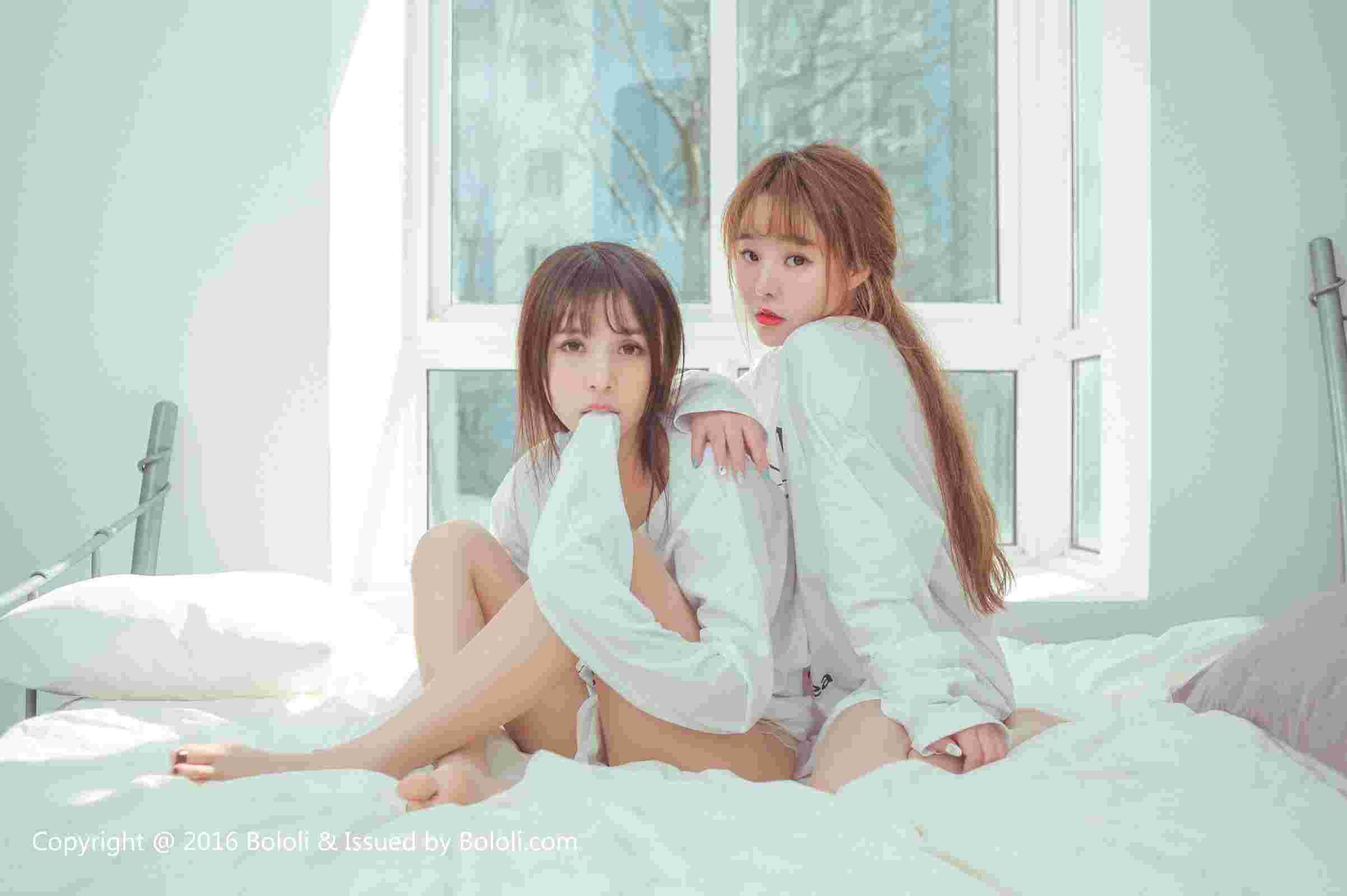 柳侑绮夏美酱 - 超大尺度首度双人写真