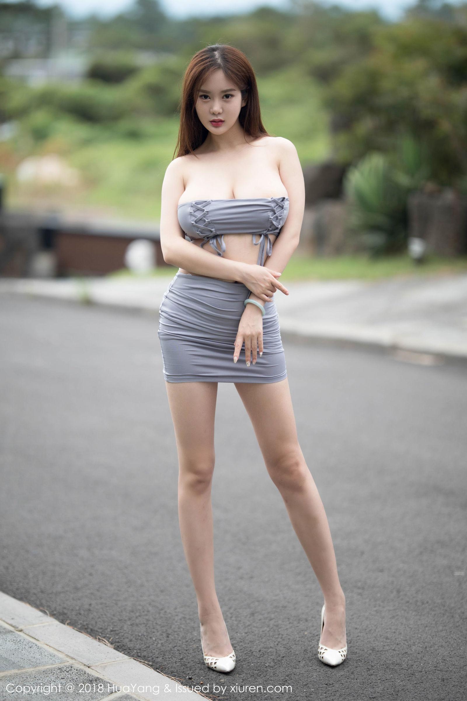 易阳Silvia - 肚兜巨乳诱惑