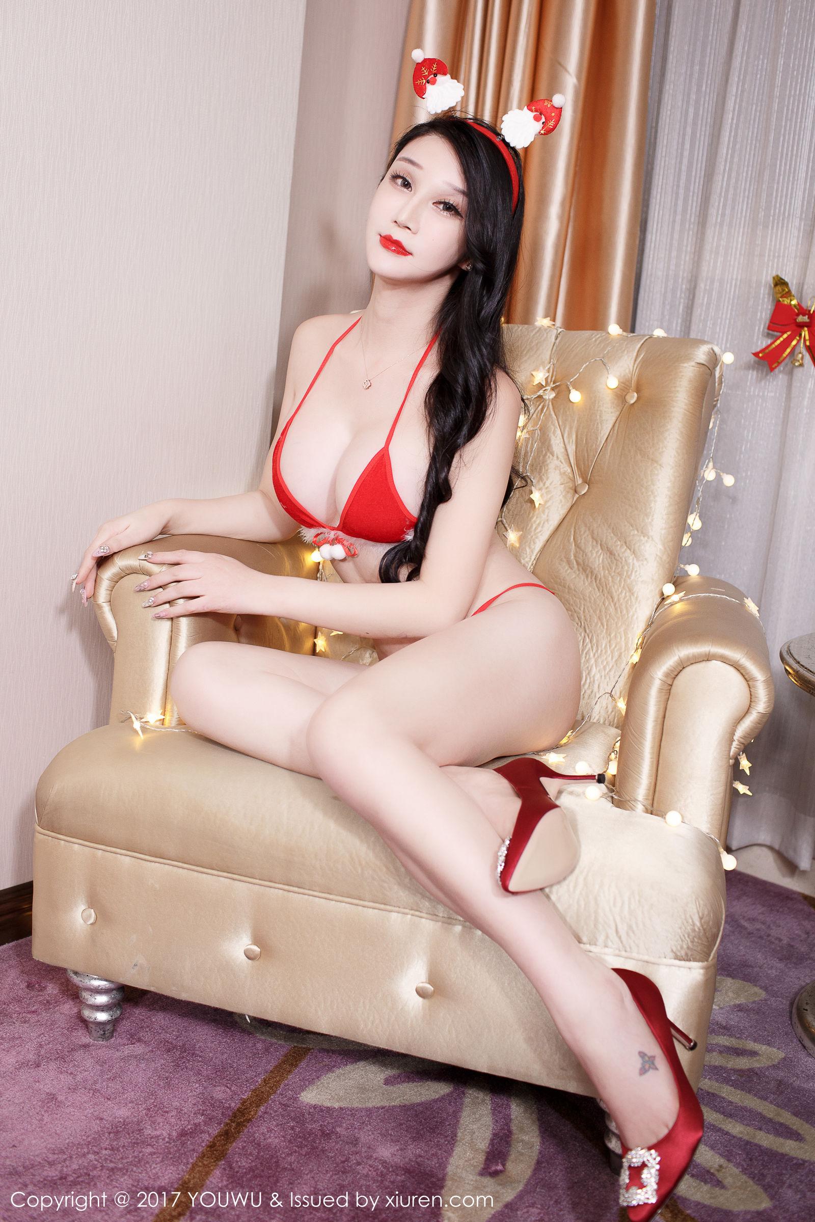 李宓儿 - 圣诞主题写真