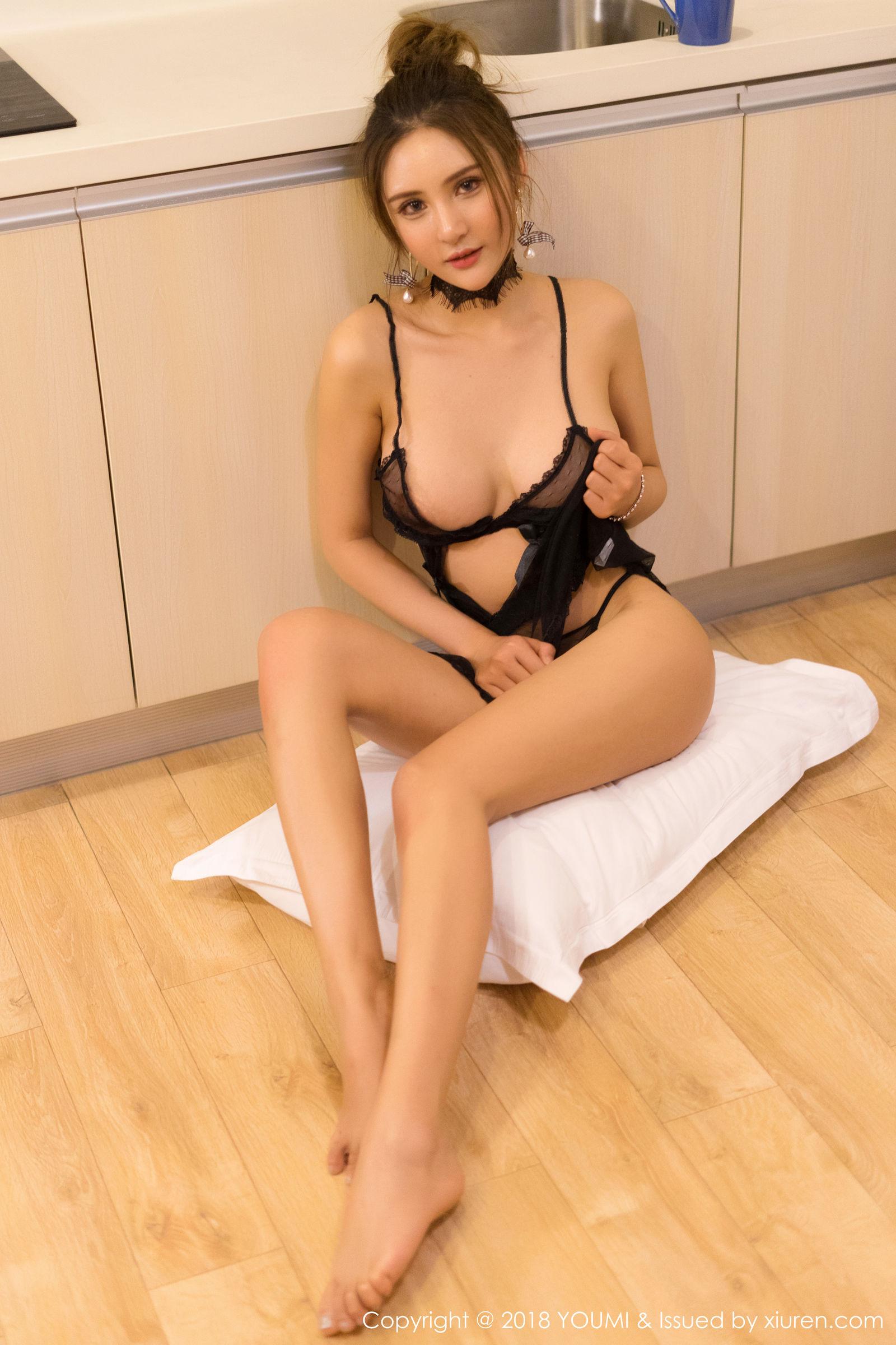 模特SOLO-尹菲 - 极致诱惑写真美女性感图片