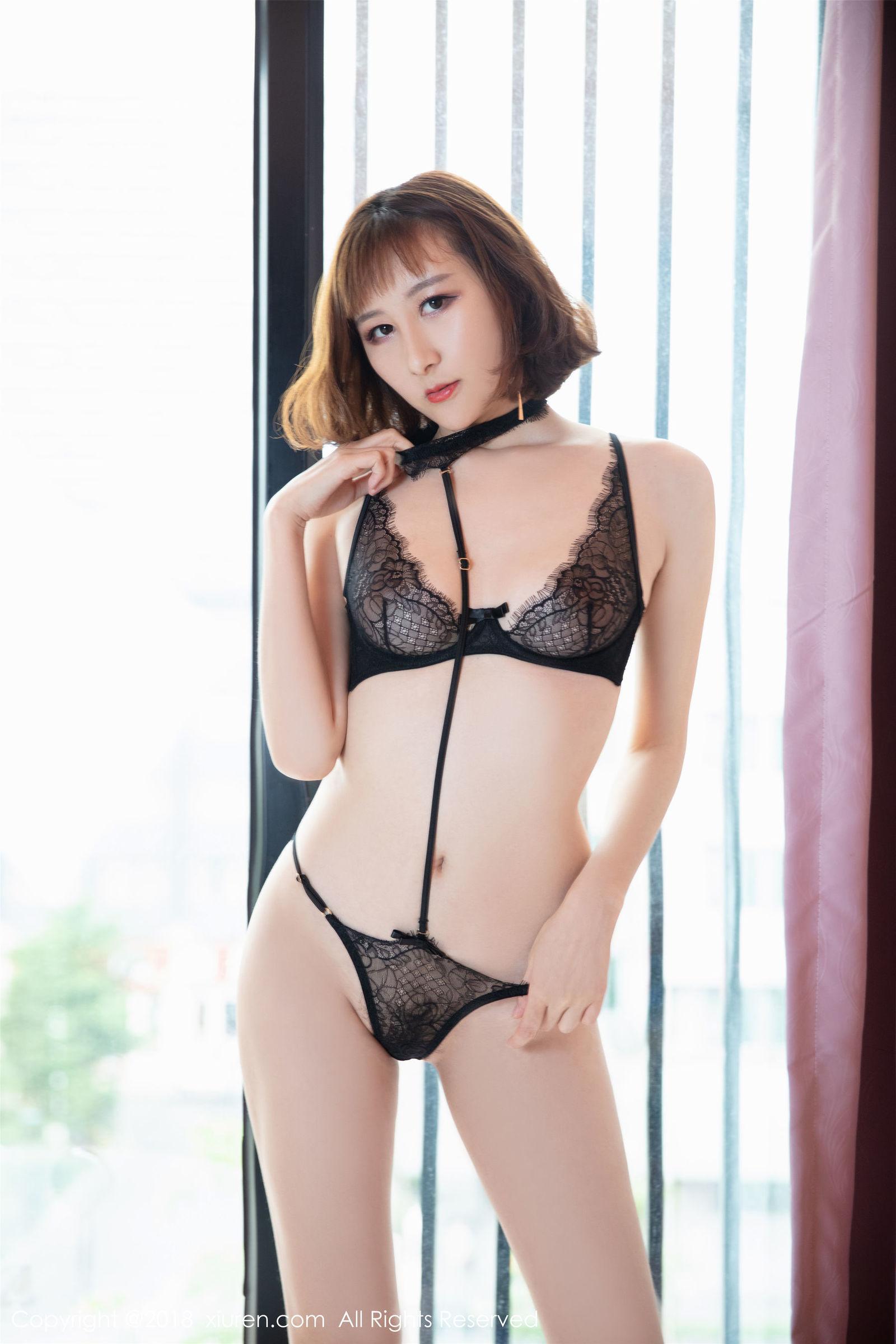 模特@九尾Ivy-性感私房写真