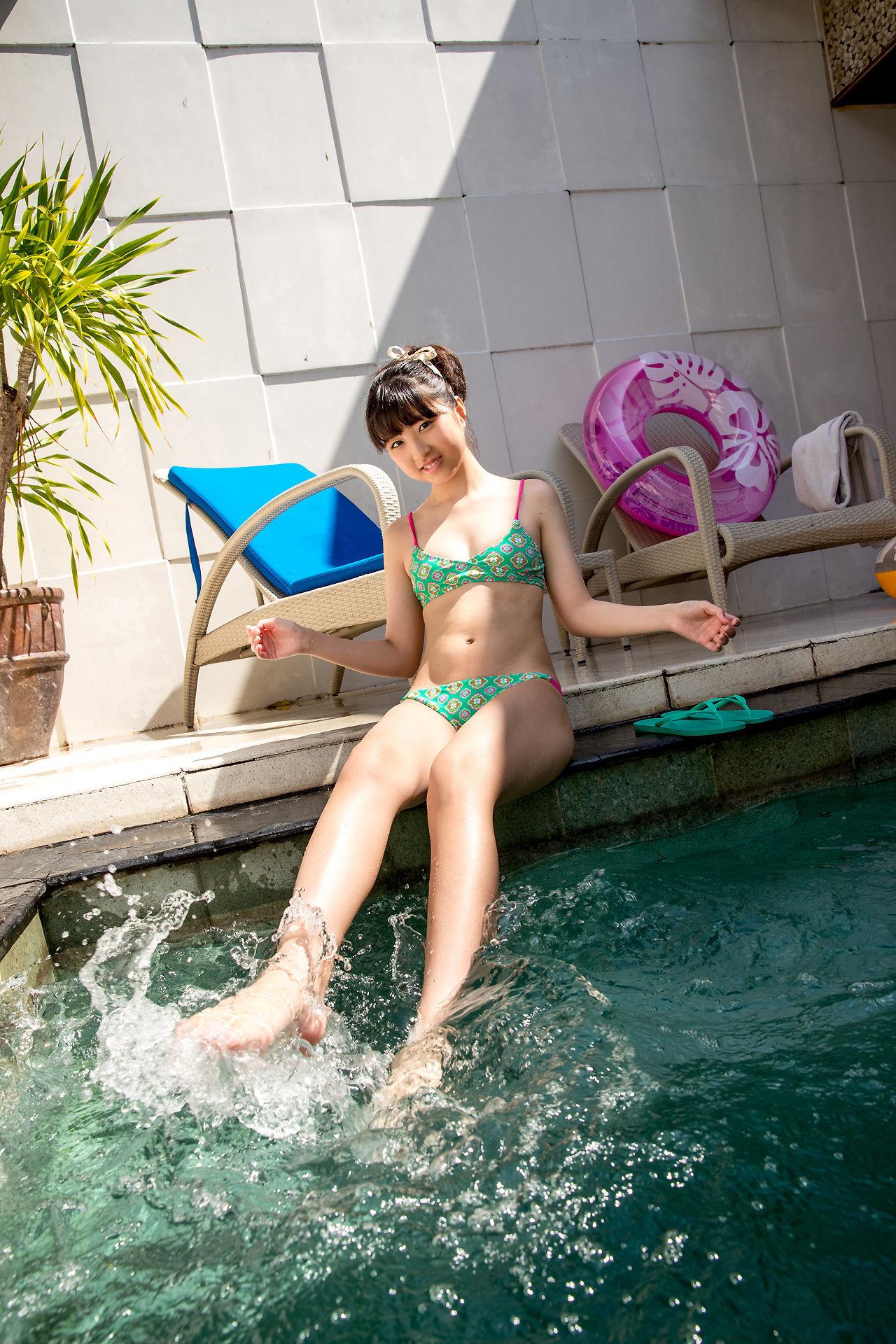 池田なぎさ - 超萌泳装写真套图