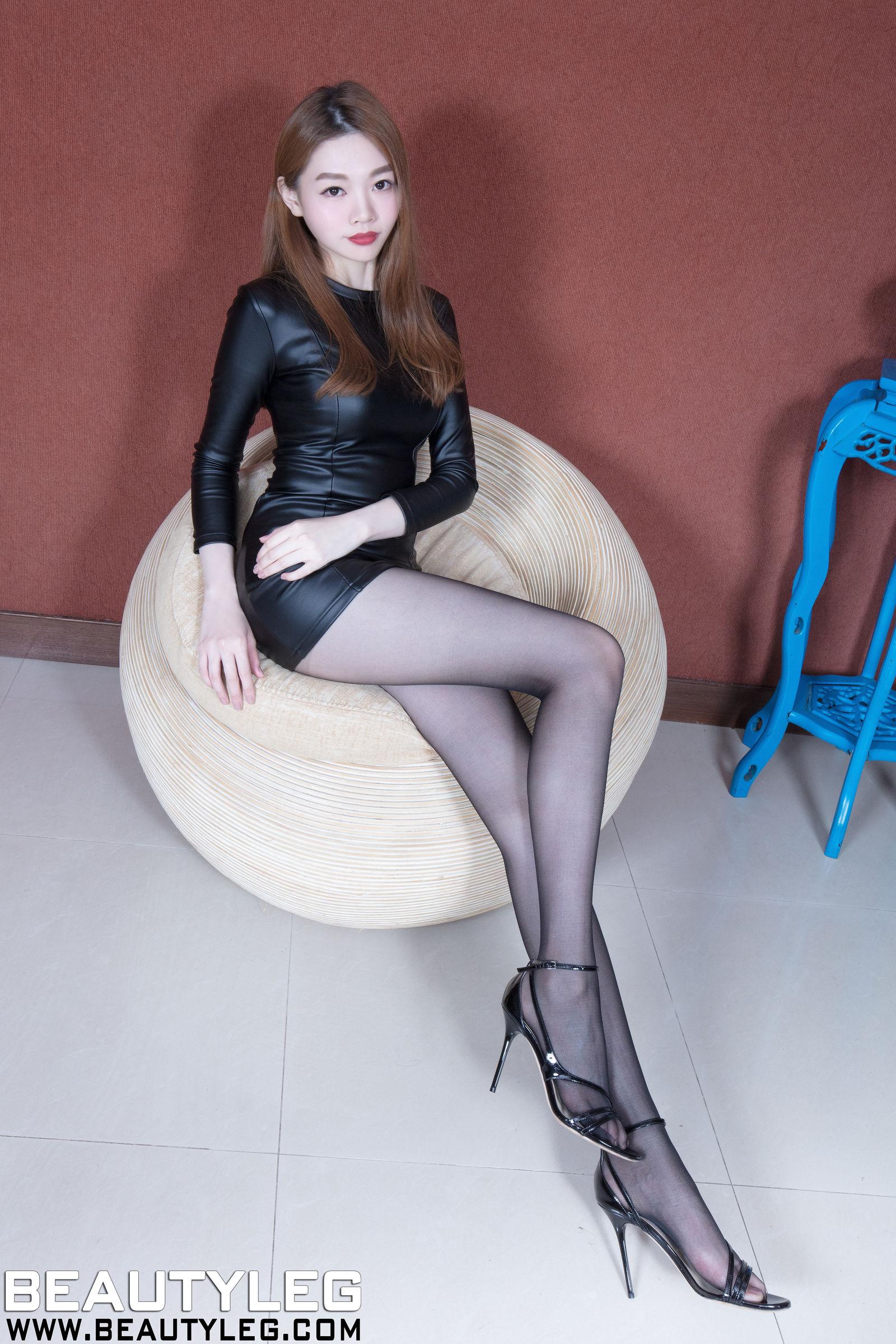 腿模Joanna - 长腿丝袜气质美女