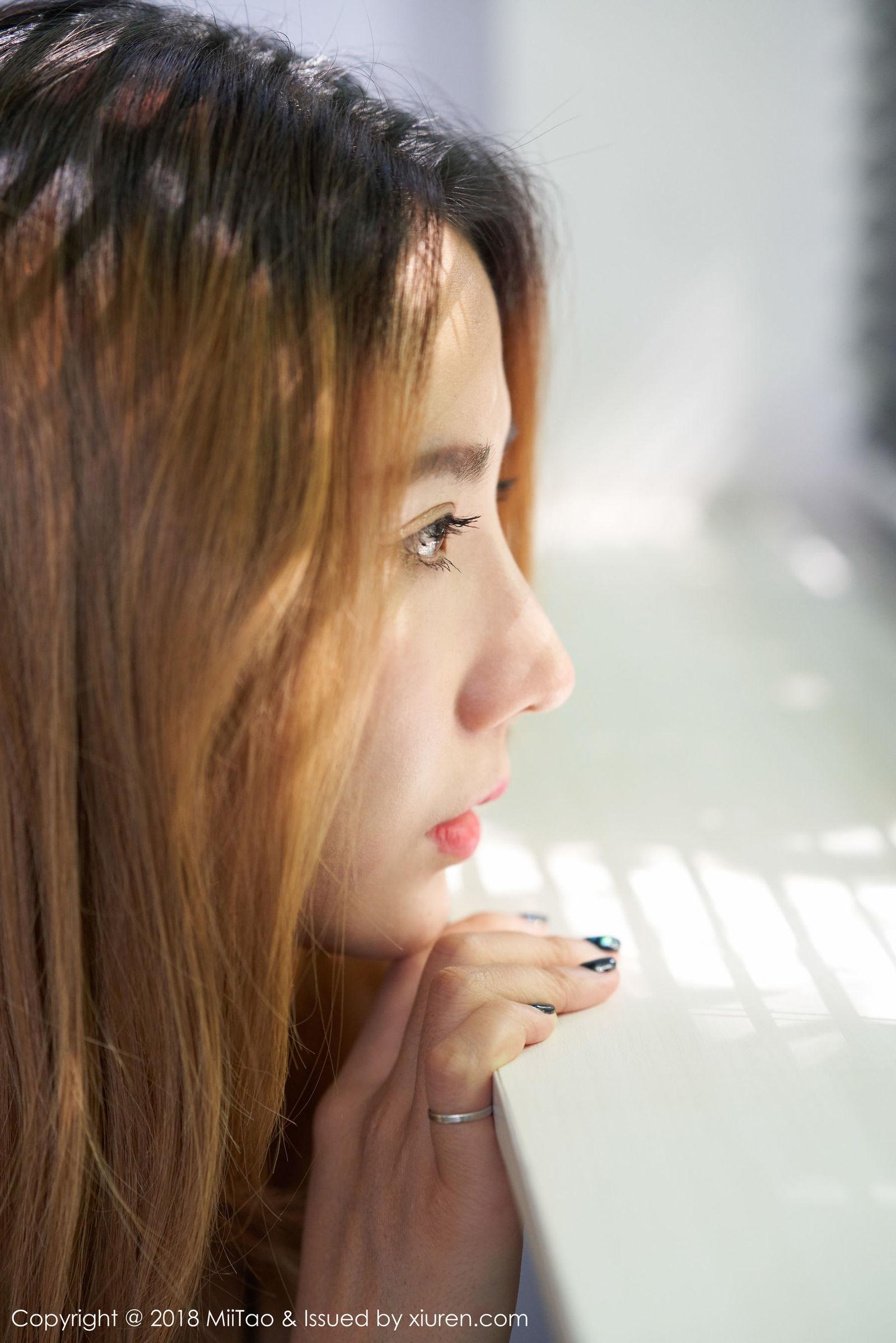 模特@梦梦Momo唯美写真