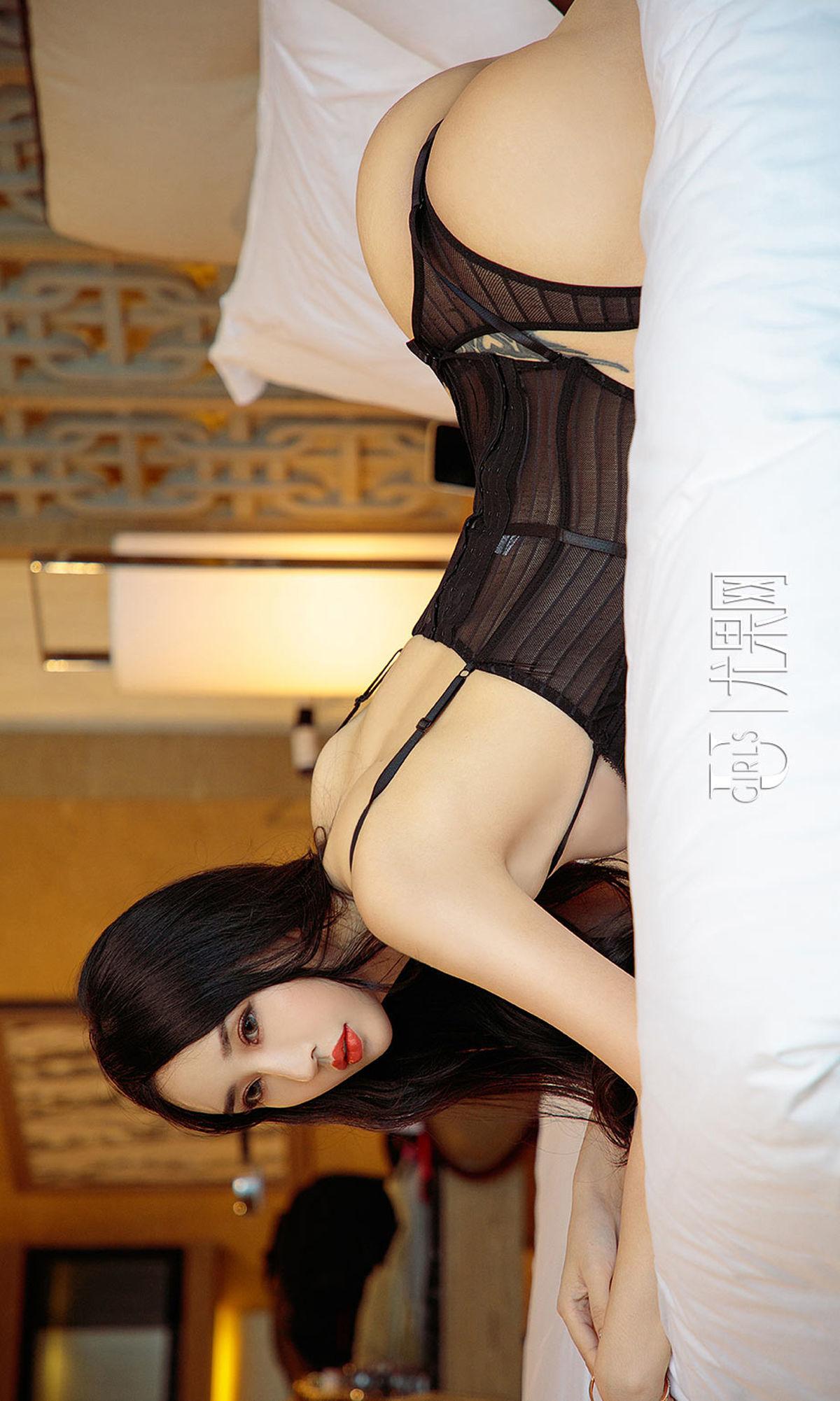 俞夕梦 - 江边花如梦 写真套图