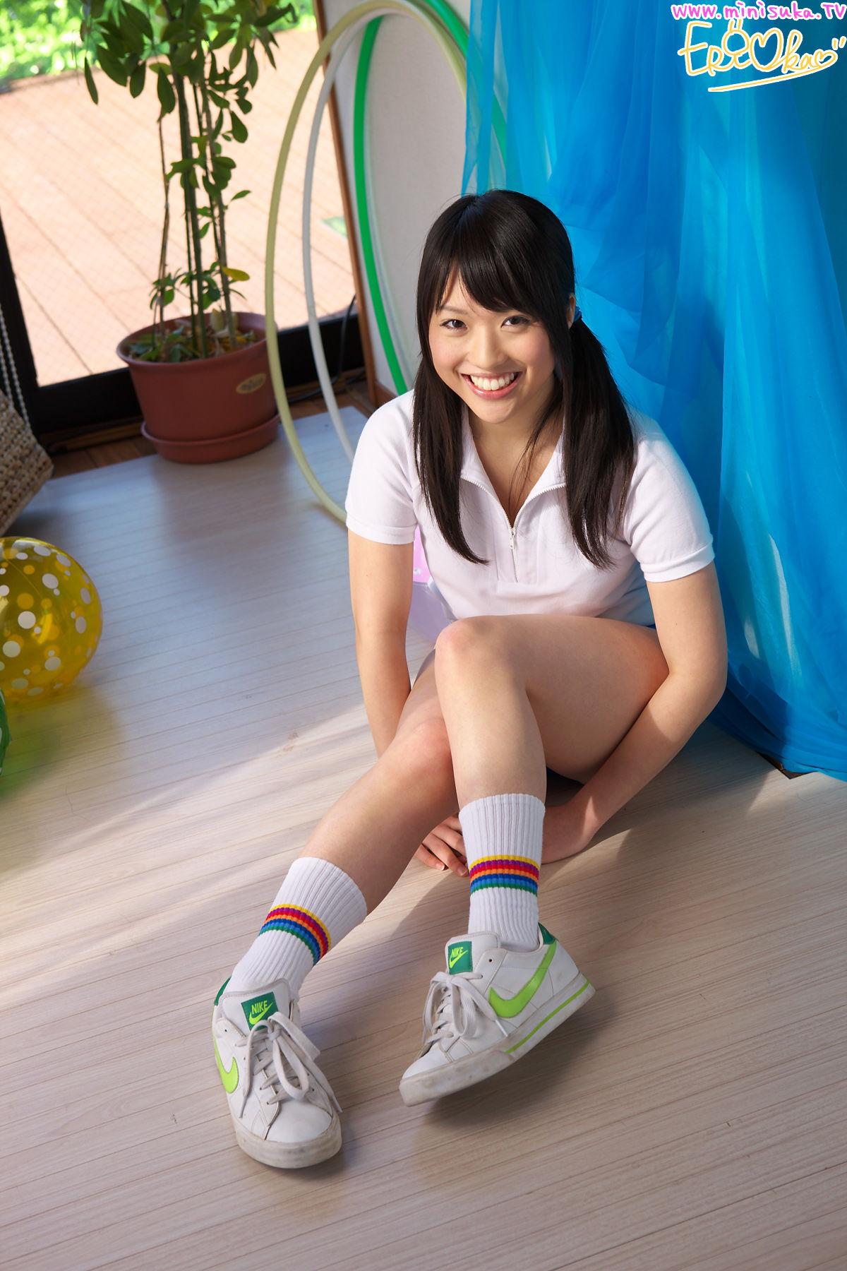 Eri Oka 岡英里 - 体操服少女