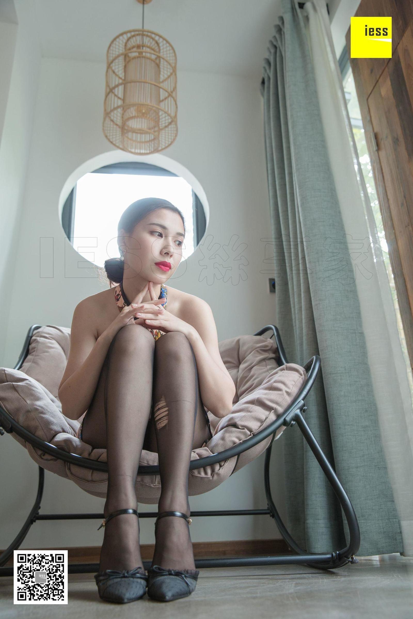 辣妈 《辣妈现代感旗袍》写真套图