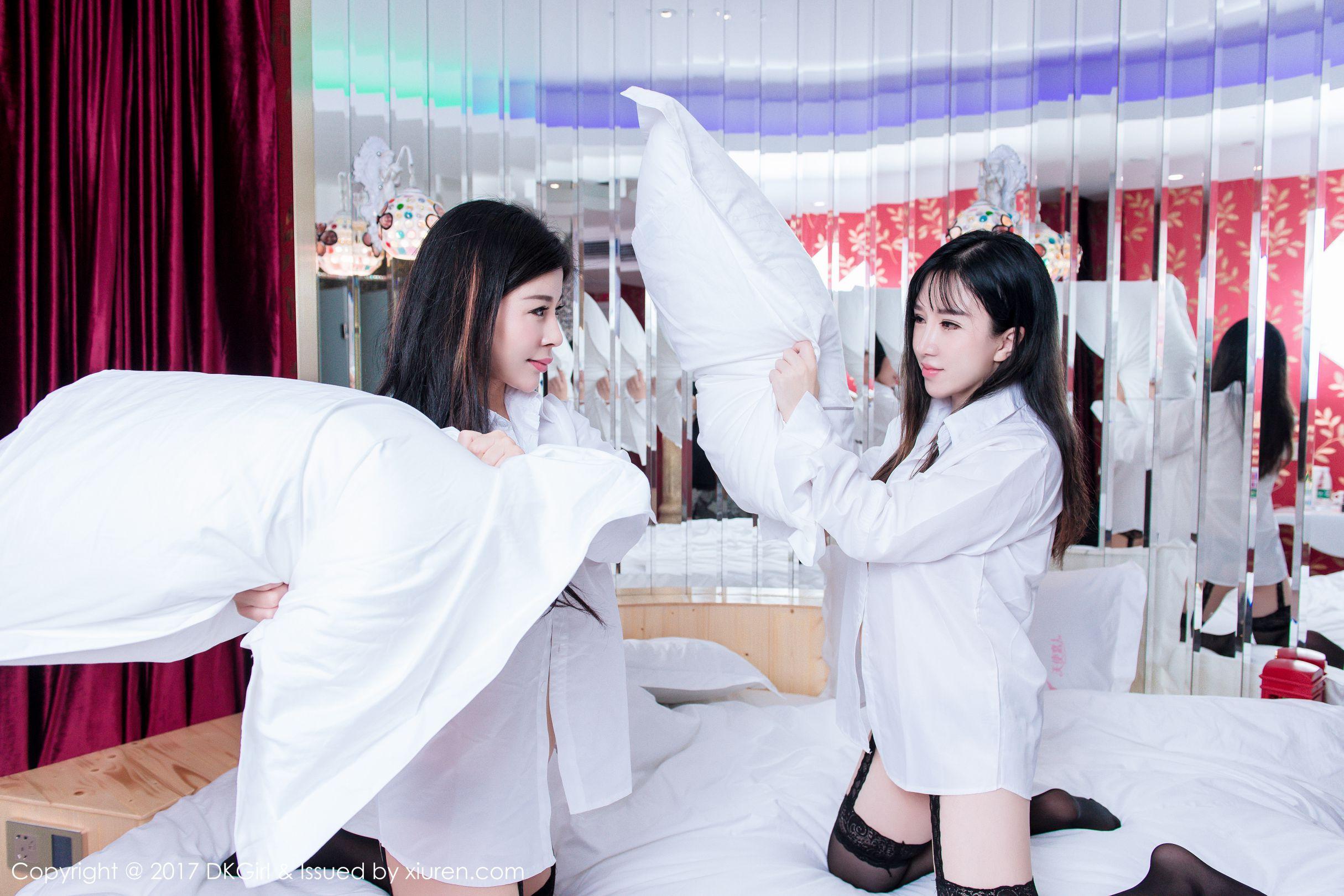 夏雨涵韩恩熙 - 巨乳肥臀姐妹花 写真图片