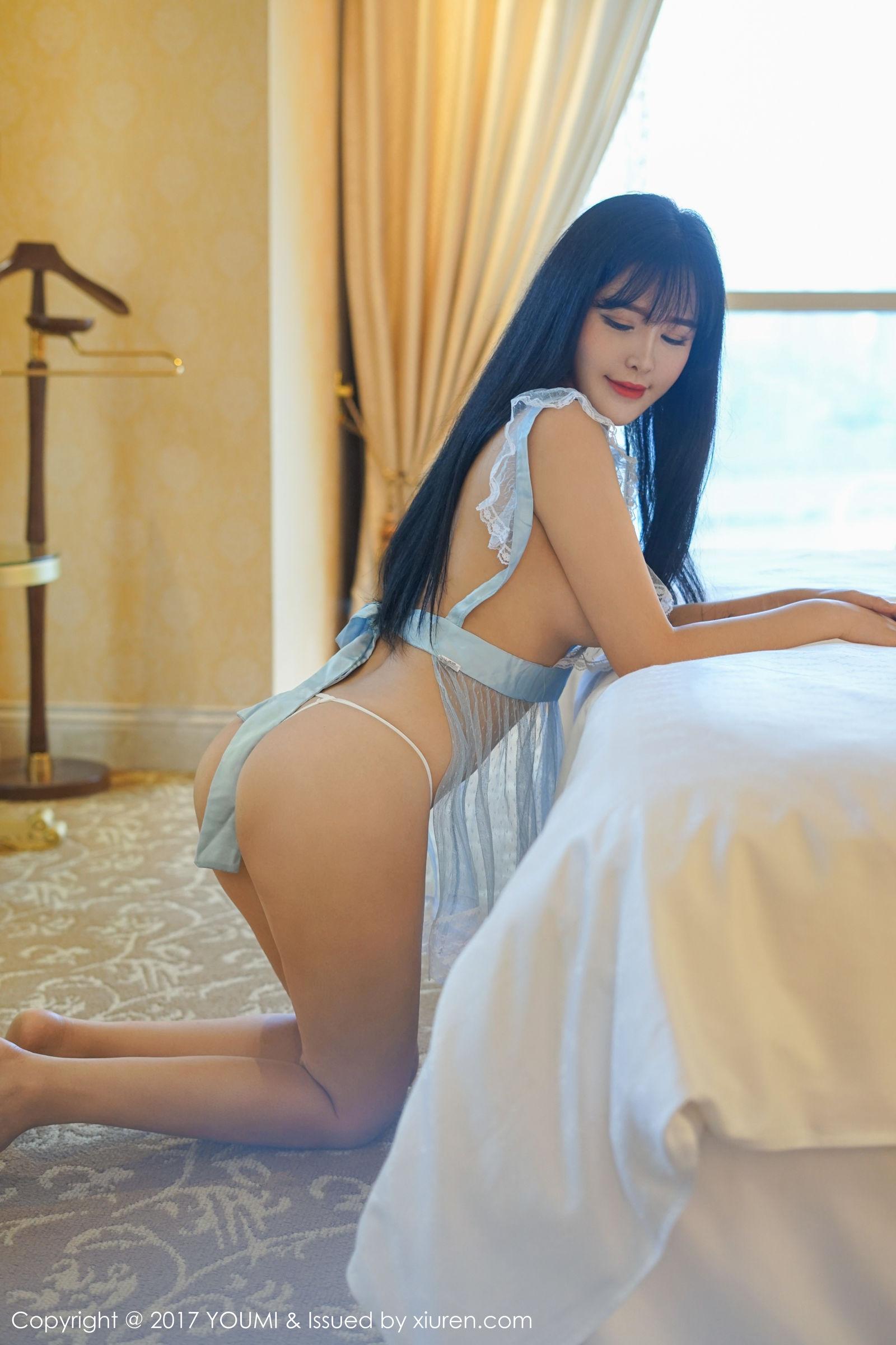 性感美女刘钰儿 - 性感学生装