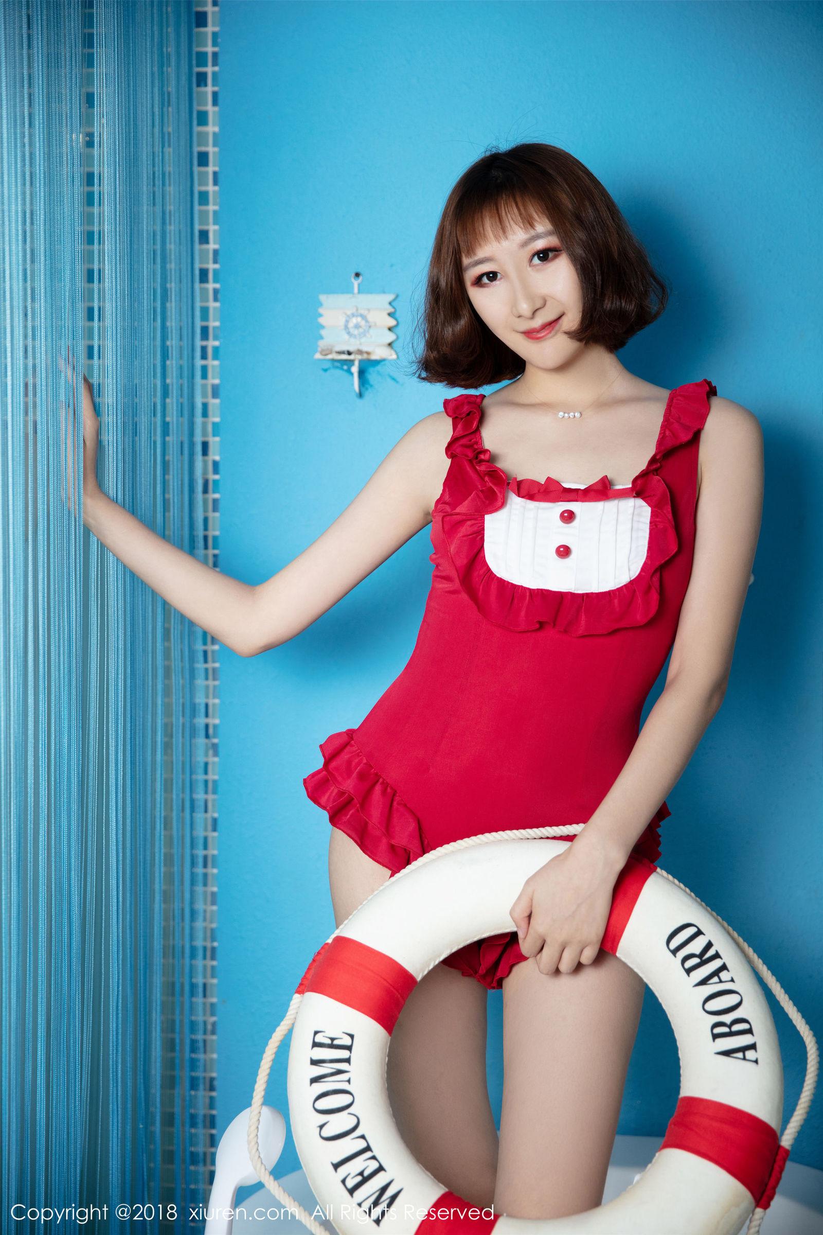 性感模特@九尾Ivy-性感私房写真