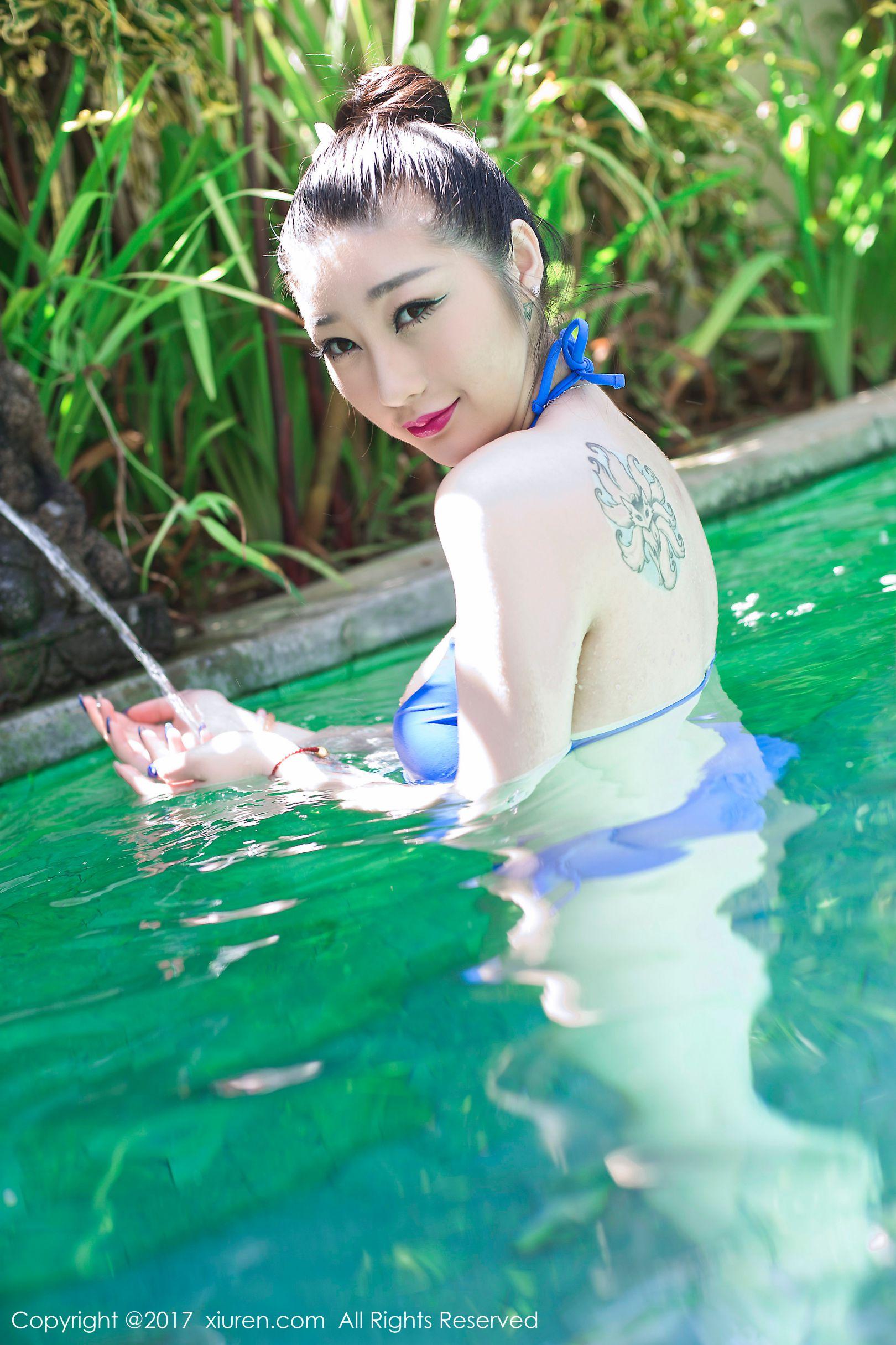 妲己_Toxic - 巴厘岛旅拍第二套写真套图