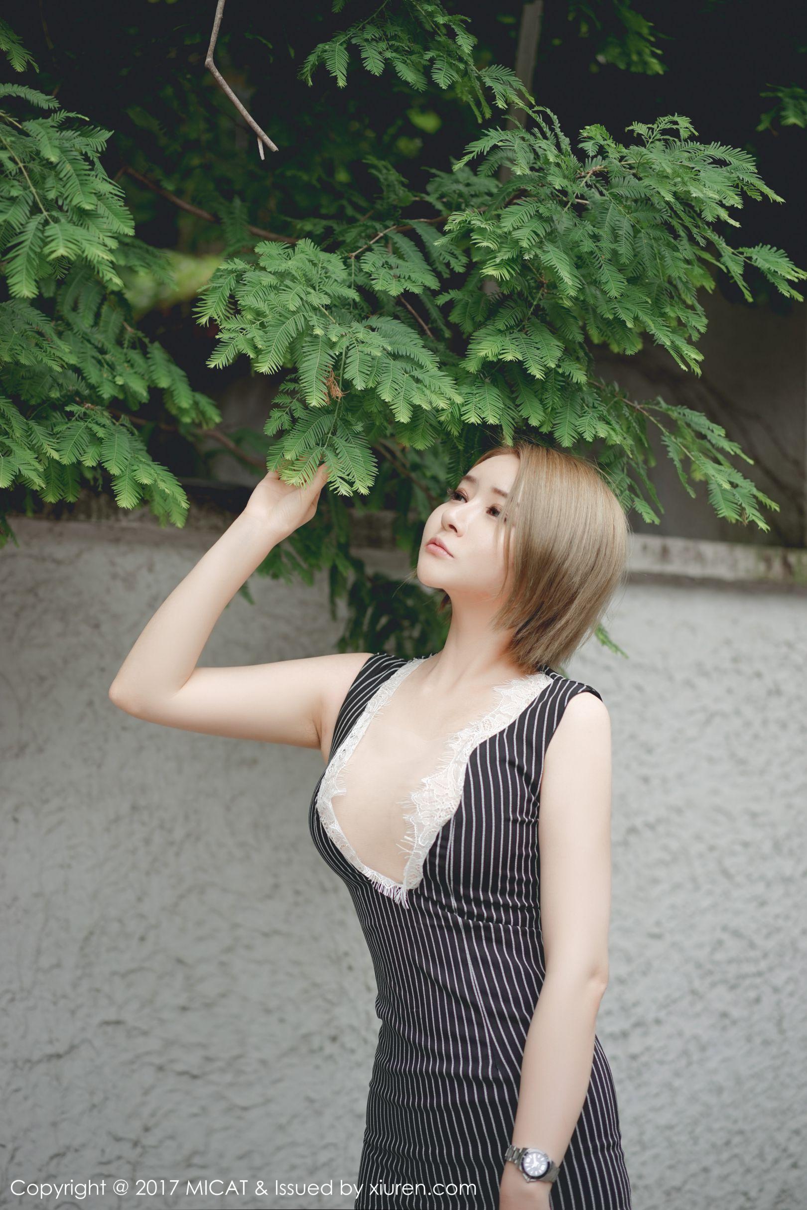 凯竹BuiBui - 性感街拍+蕾丝内衣