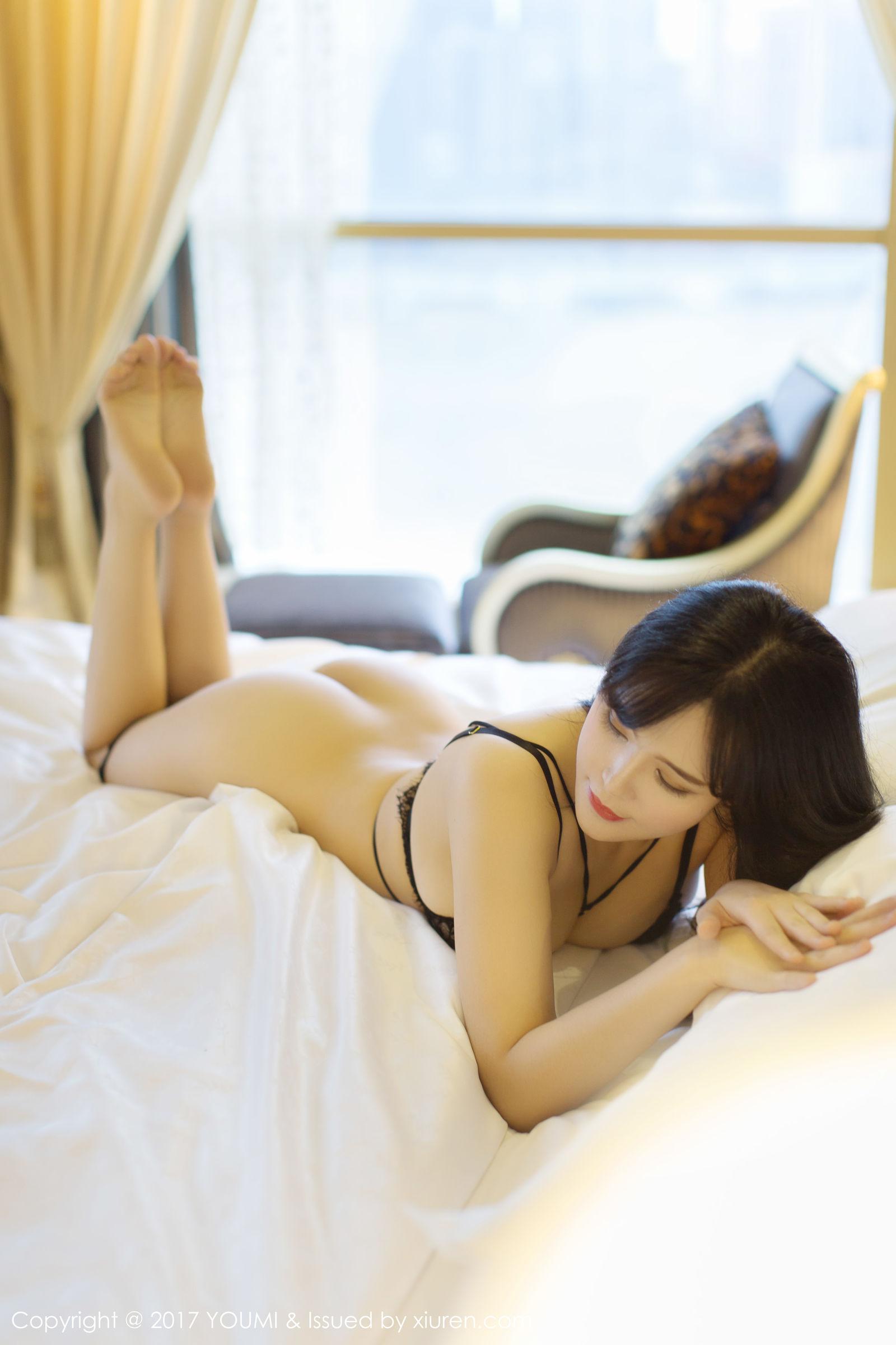 女神@刘钰儿情趣蕾丝内衣写真