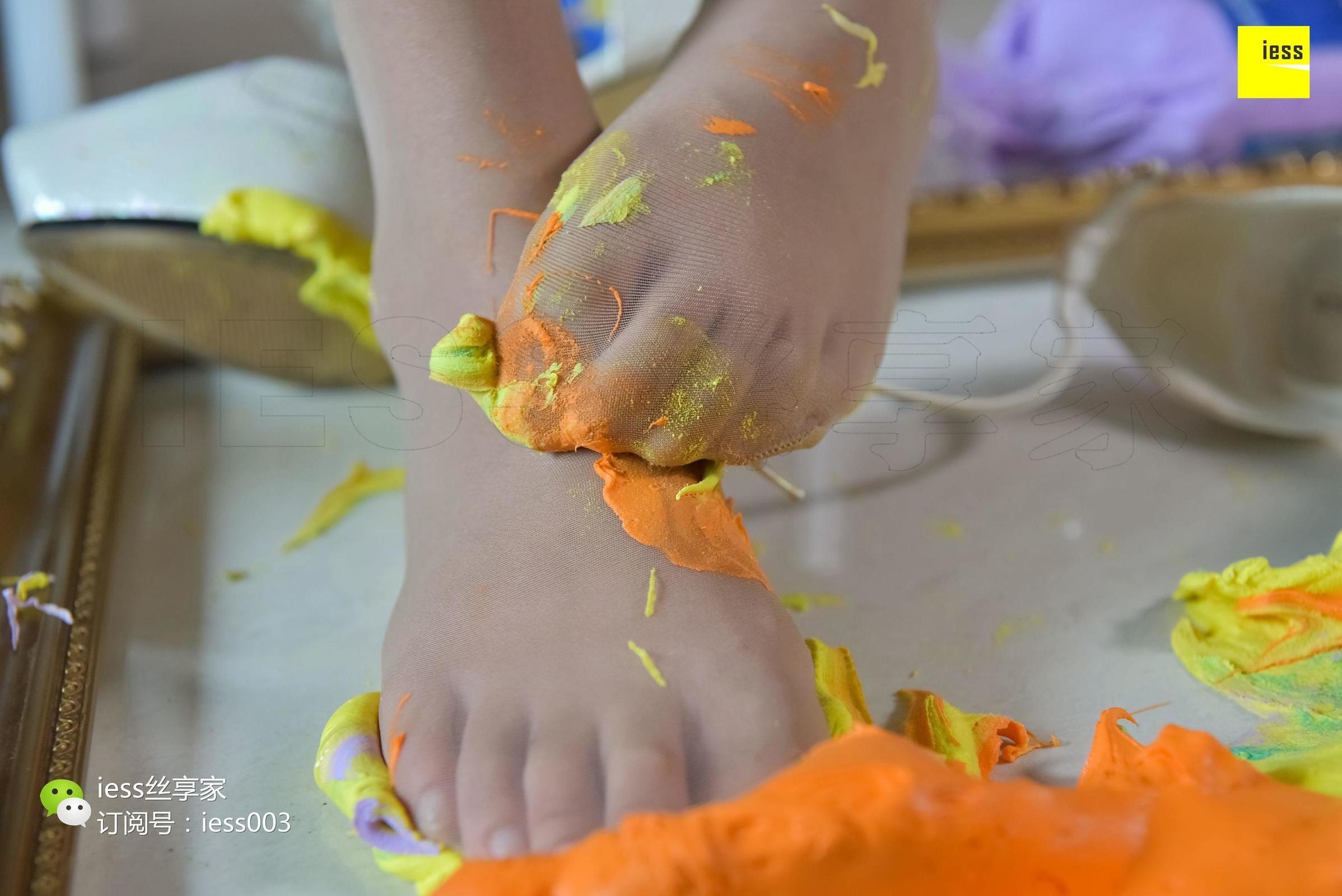 婉萍 《用丝足脚为你调制一抹色彩》 丝足写真