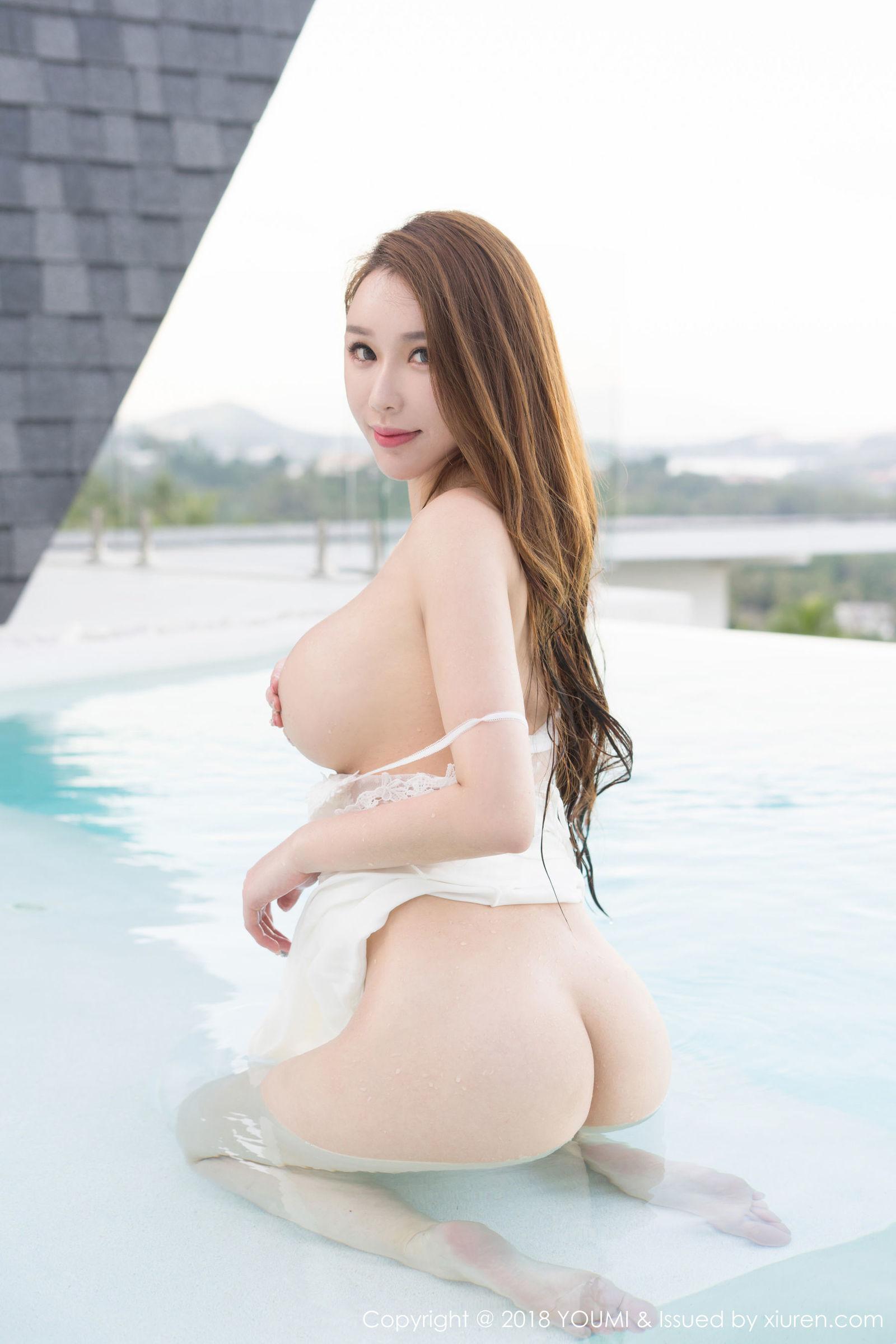 Egg-尤妮丝 - 苏梅岛性感泳池写真~