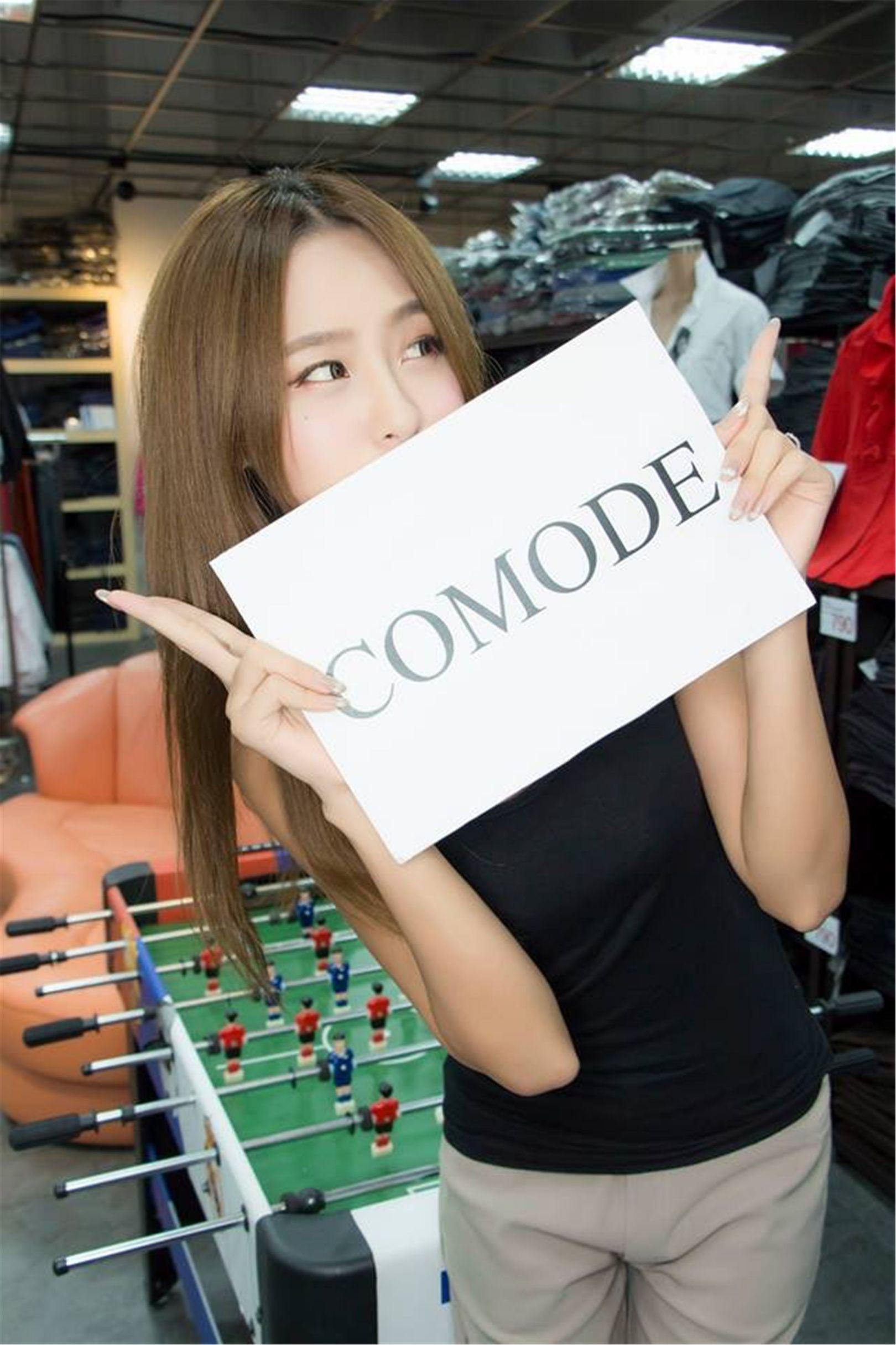 台湾女神Winnie小雪 - Comodel 开业摄影套图