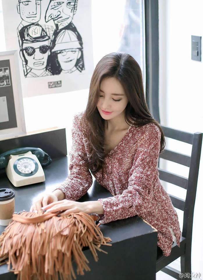 超高颜值的漂亮韩国美女